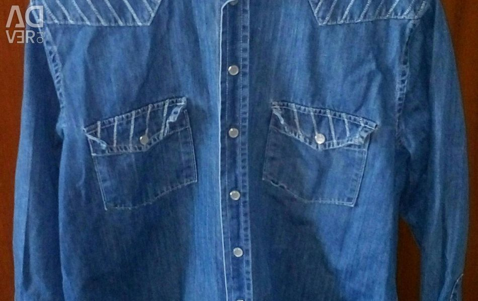 Jeans shirt .52 р.