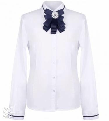 Блузки для дівчинки шкільні