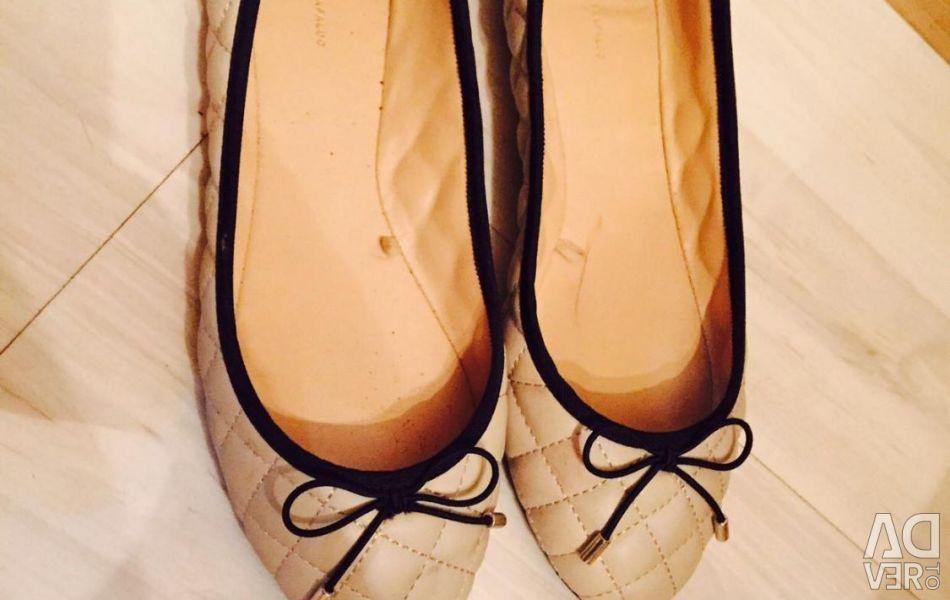 Νέα παπούτσια μπαλέτου zara