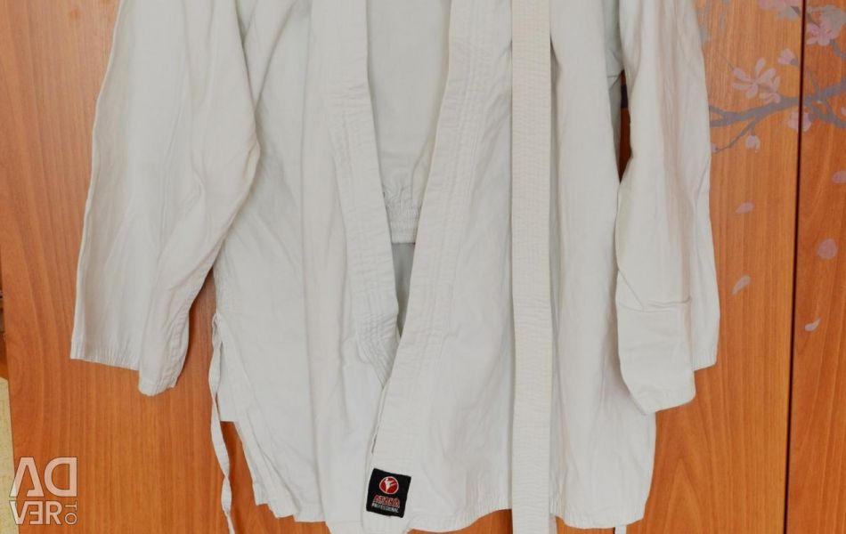 Kimono: pants, jacket, belt. On the growth of 180