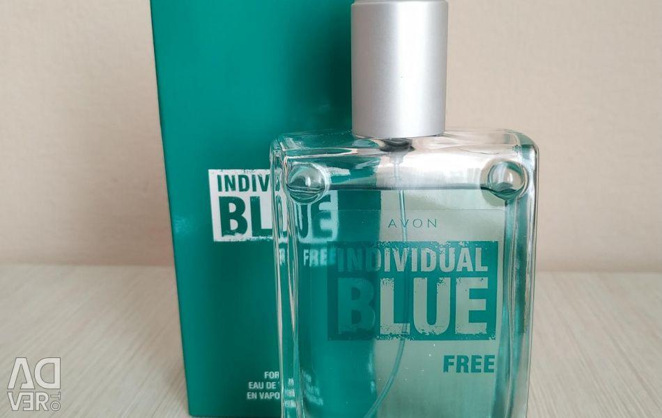 Туалетная мужская вода Individual Blue Free .