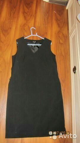 Черное платье - сарафан