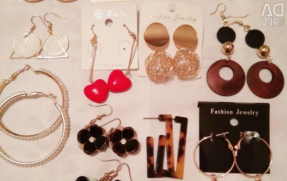 NEW earrings in stock