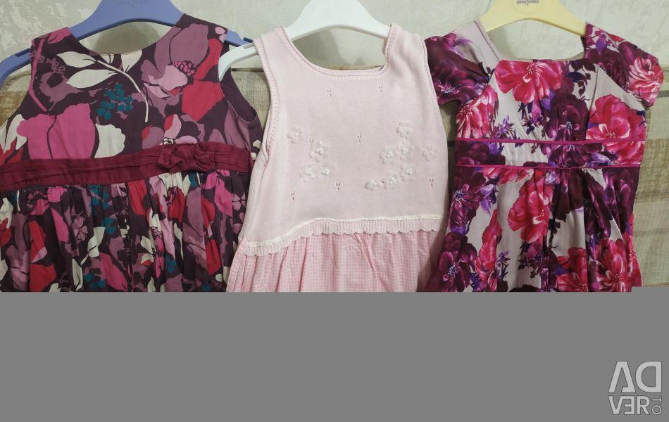 Платье р 4-6лет