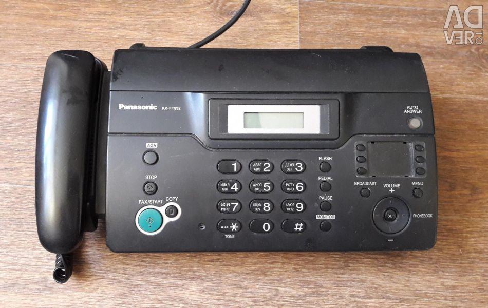 Fax Panasonic KX-FT932