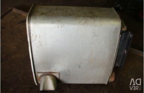 Man tgx silencer barrel