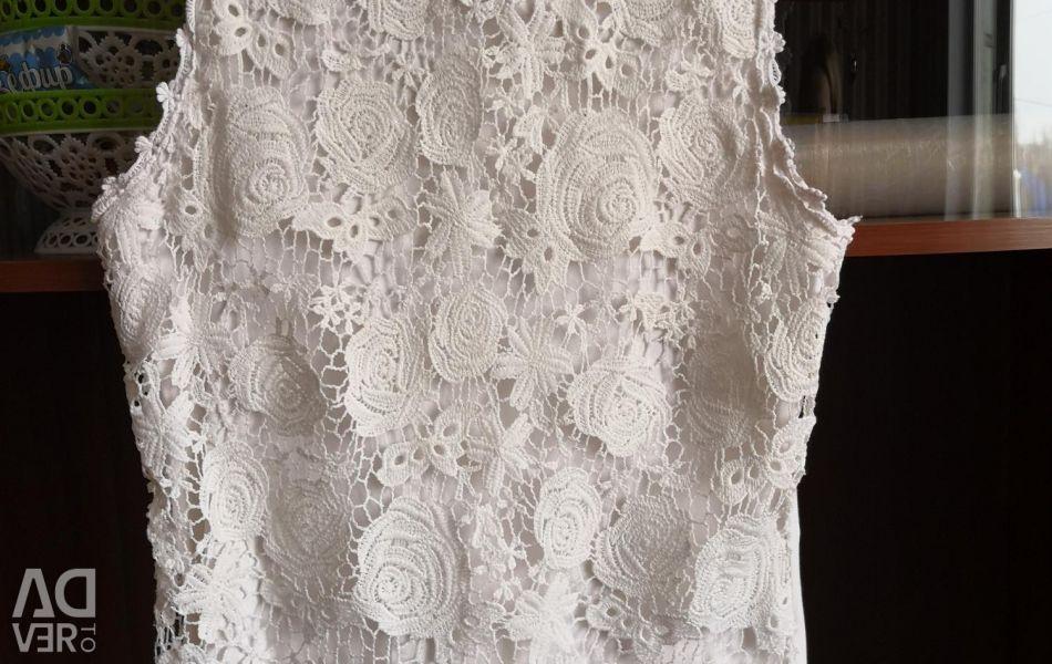 Blouse lace about. 42