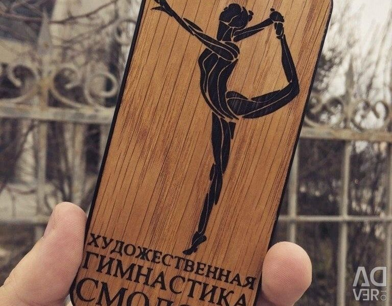 Cases with individual engraving on iPhone
