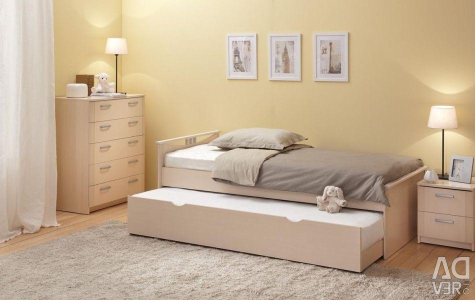 Teenage bed