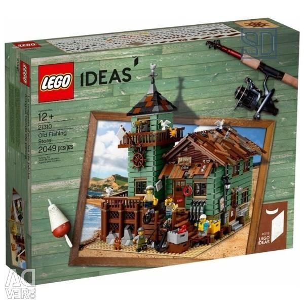 Designer de idei LEGO 21310 Vechi magazin de pescuit