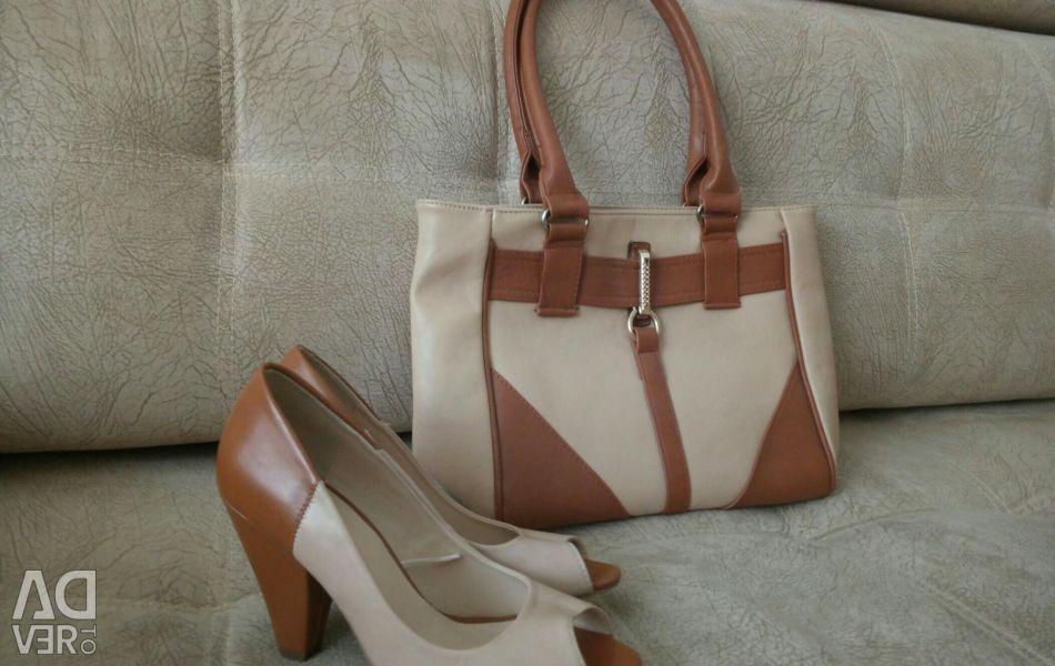 Ayakkabı 36 r. + Hediye olarak çanta