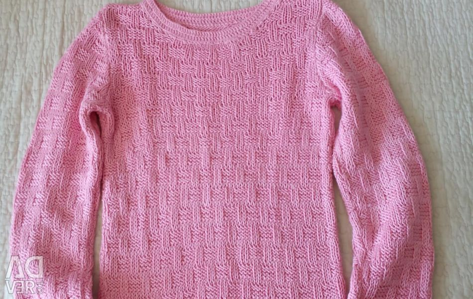 Pullover 4-5 years old (hand knitting)
