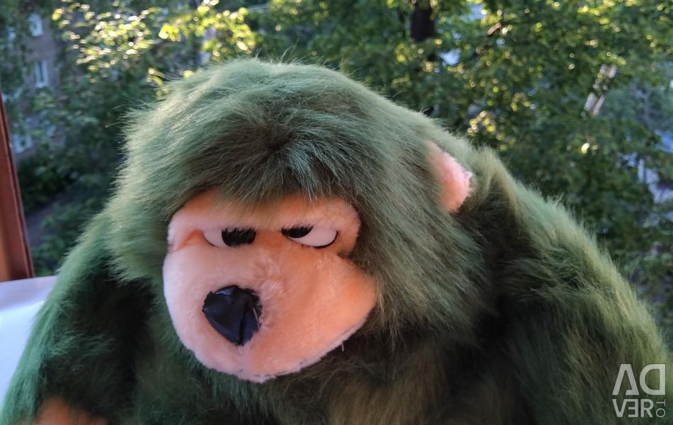 Toy soft monkey