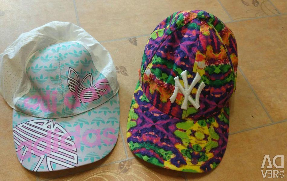 2 new caps
