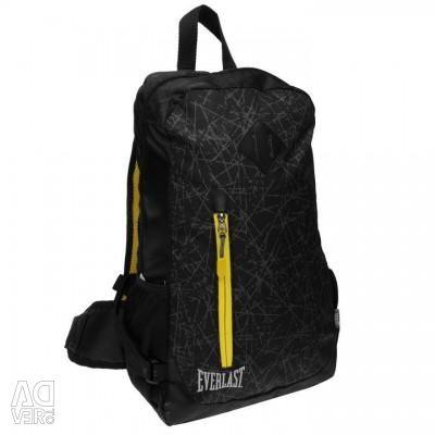 Backpack Everlast lightweight black / yellow