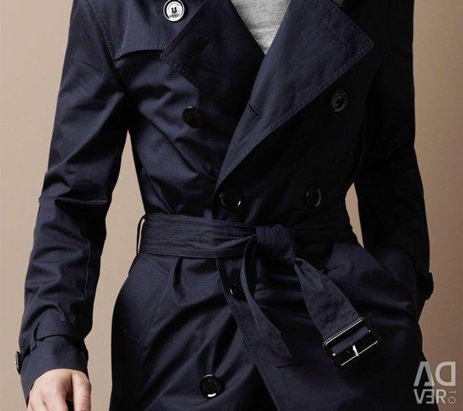 Men's stylish raincoat