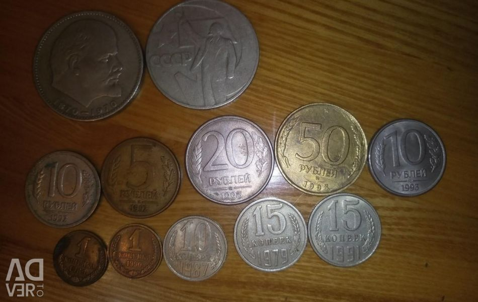 Coins of the Soviet and Russian period