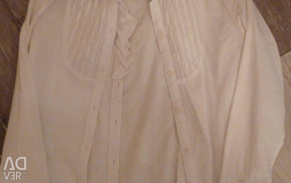 White school shirt for a girl
