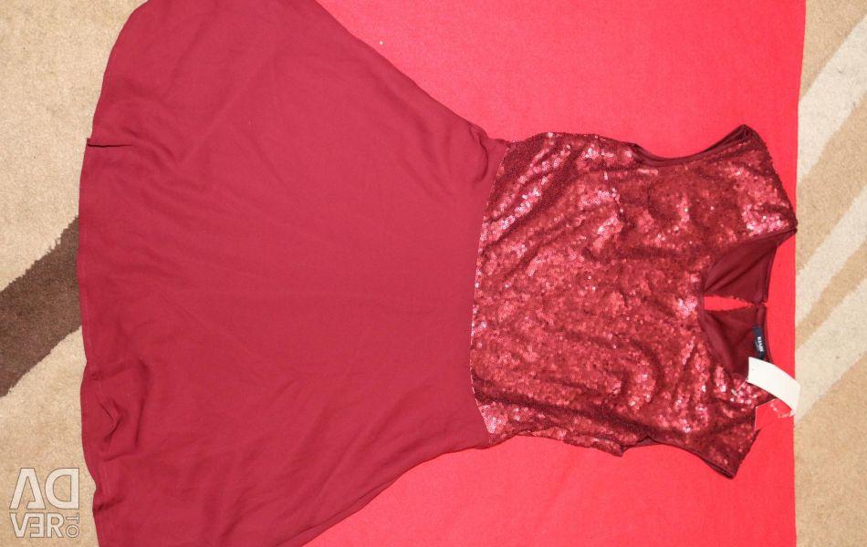 НОВОЕ платье KIABI, с пайетками