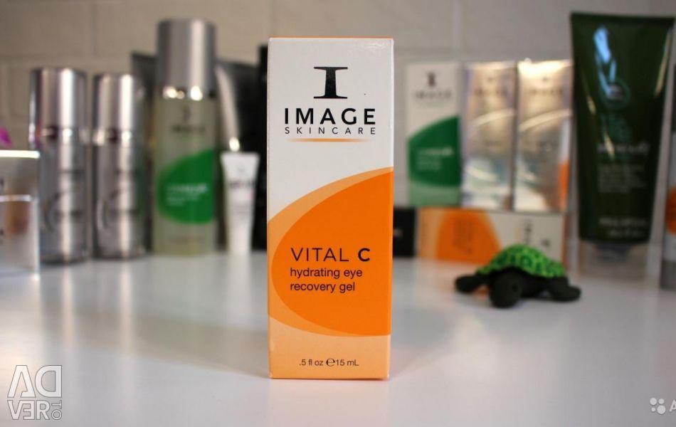 IMAGINI Gel de recuperare a ochilor pentru îngrijirea pielii Vital C