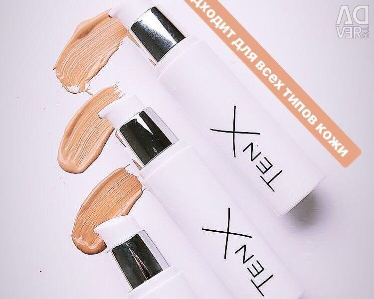 Tone Fluid, TenX Cream