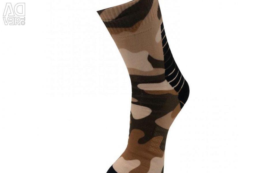 Waterproof socks with a membrane (kmf)