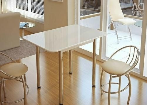 Dining table BTS (White Gloss) with delivery