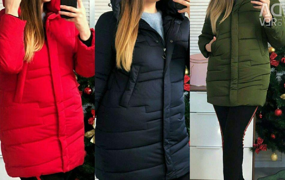 Jacheta de iarna pentru femei 50-60