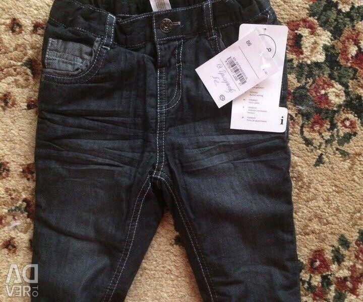 New jeans on fleece