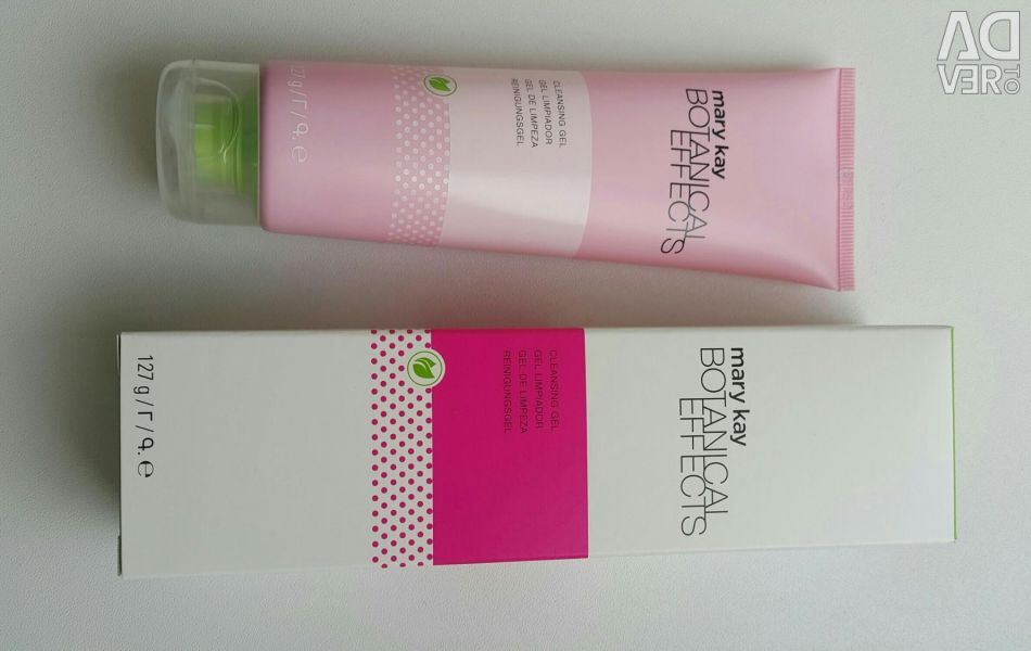 New cleansing gel for washing Mary Kay