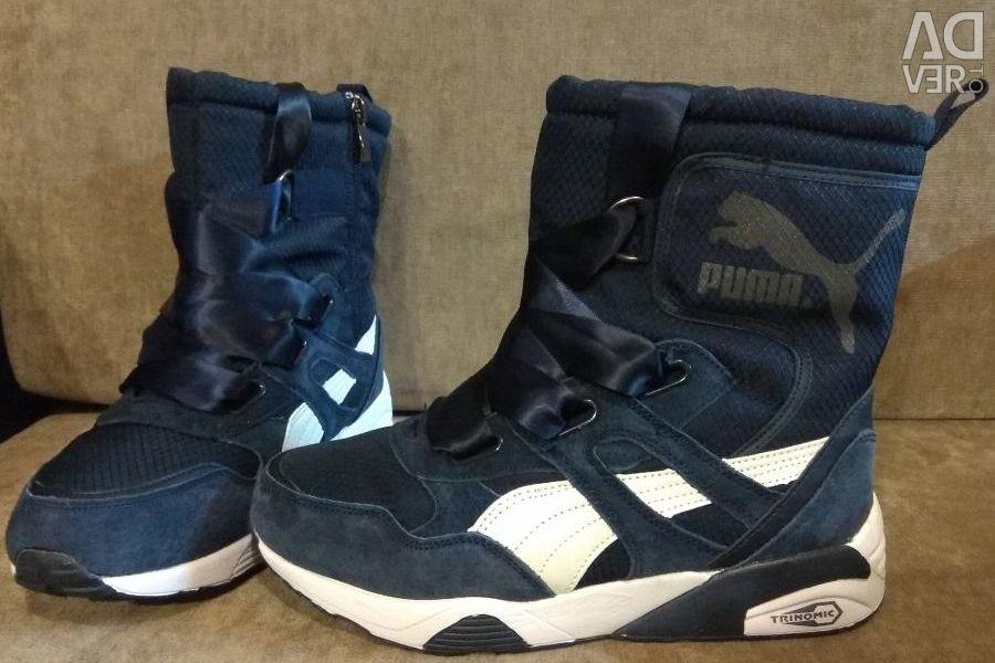 Winter boots dutik Puma Puma blue new 6d