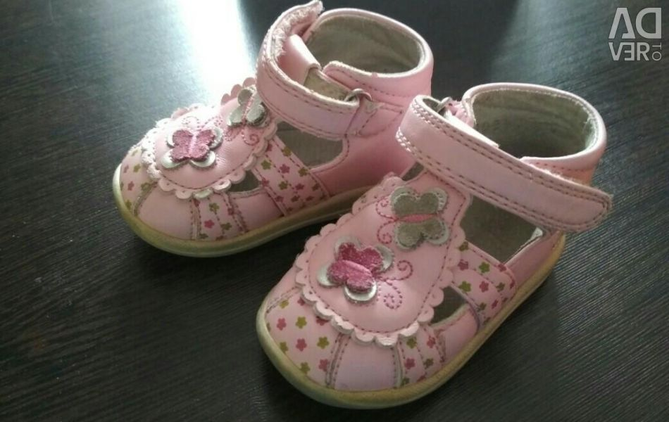 Shoes for a little lady