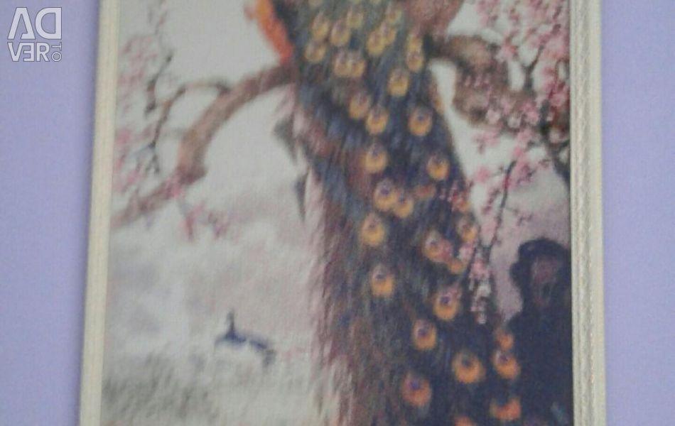 Rhinestone painting
