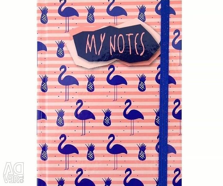 Notebooks A6 80 sheets new