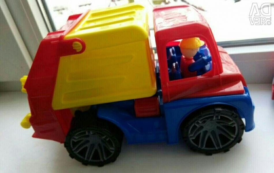 Νέο φορτηγό απορριμμάτων