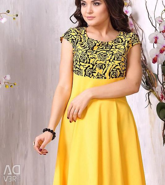 Yellow dress 48,50