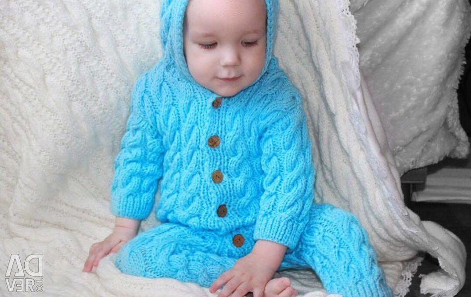 Knitted kombez