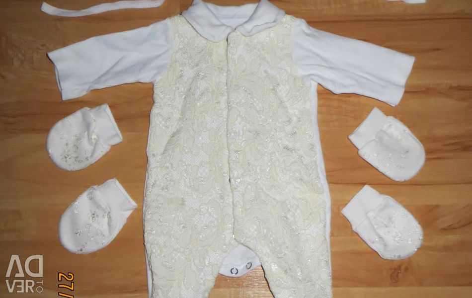 Selling overalls (set) Elika-baby 56 rr.