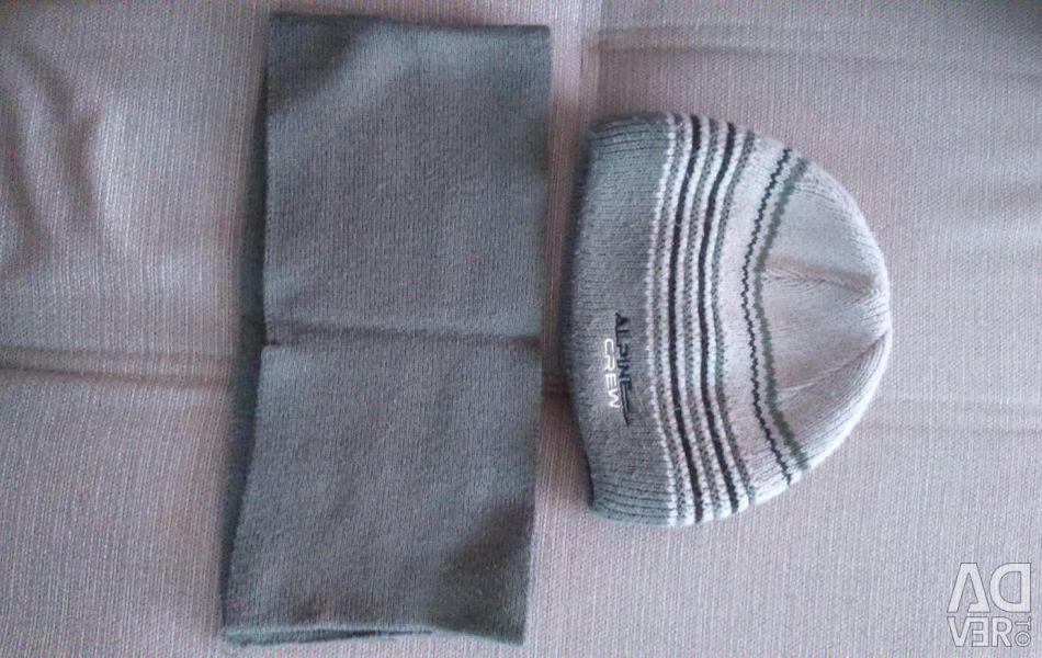 Hat și eșarfă