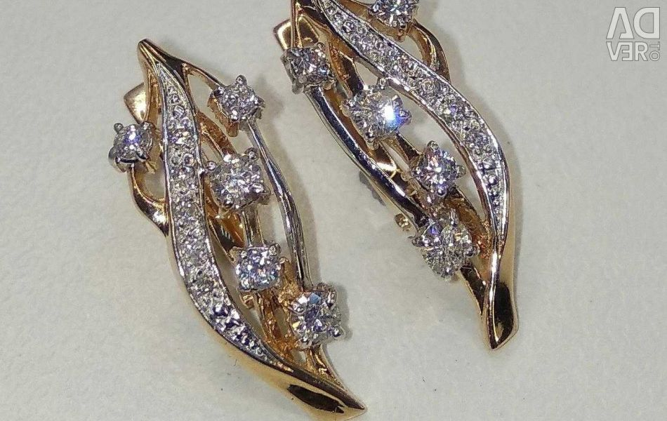 СерьGold earrings?