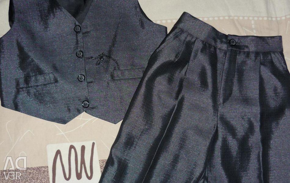 Suit pants + vest p 128 - 134