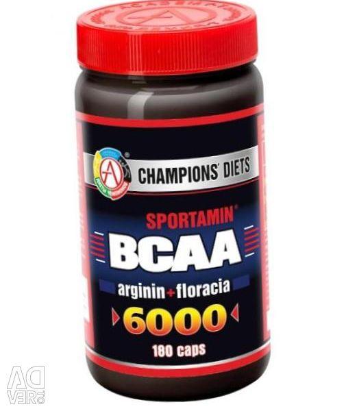 Amino Acids BCAA 6000 SPORTAMIN 180 capsules