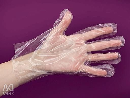 100 pieces disposable packaging gloves