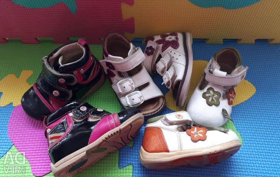 Shoes size 18