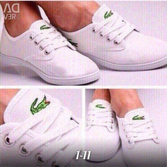 Yeni spor ayakkabılar lacoste