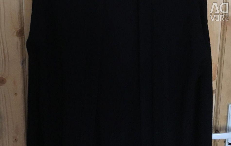 Μαύρο θηλυκό μακρύ ζακέτα h & m
