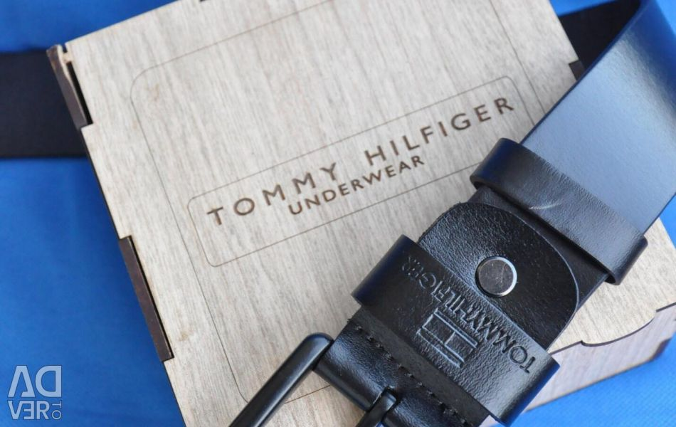 Ремінь Tommy Hilfiger натуральна шкіра