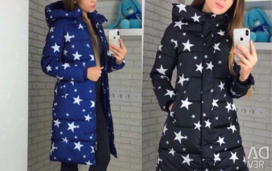 Fusta de iarna pentru femei cu stele