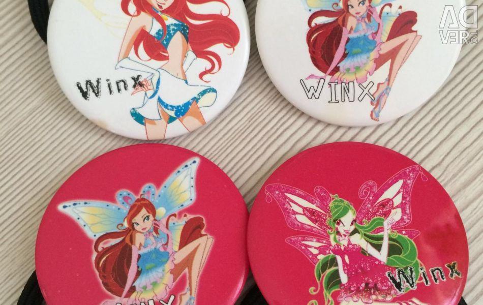 Winx τρίχες