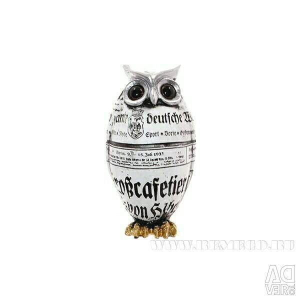 Owl 6 * 5 * 10 cm
